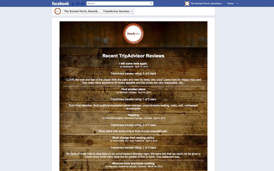 Restaurant Web Design Amp Social Media Management For The