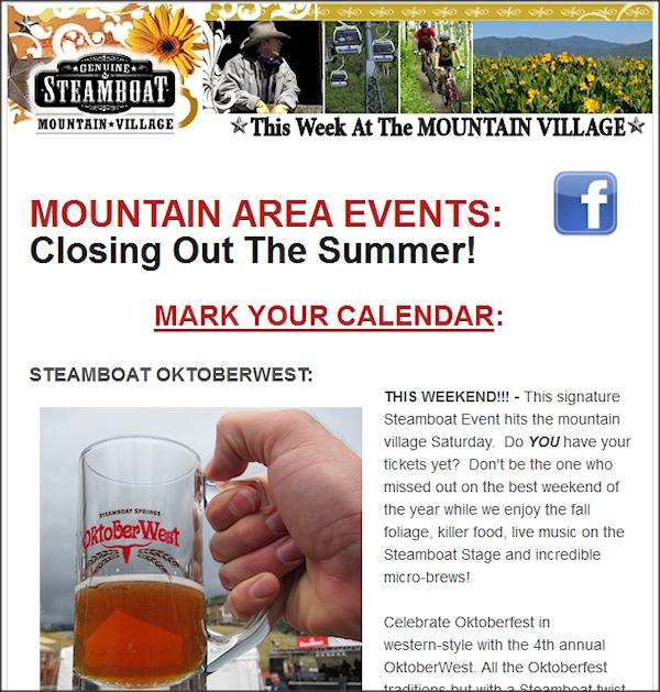 Steamboat Mountain Village