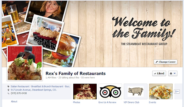 Steamboat Dining on Facebook
