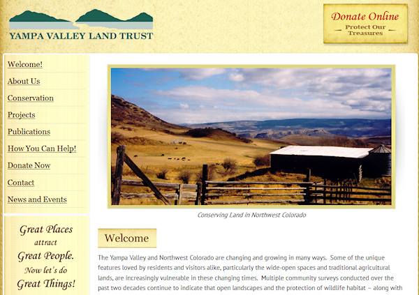 Yampa Valley Land Trust Home