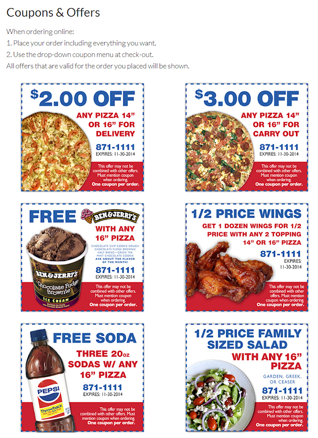 Soda Creek coupons